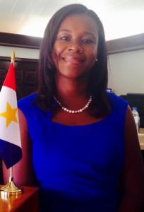 Nieuwkomer Monique Wilson (SLP) wordt gezien als de grote winnaar - foto: Hazel Durand
