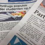 Het Openbaar Ministerie heeft onderzoek gedaan naar drugsgebruik onder jongeren.