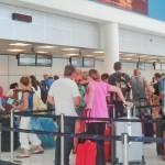 In tegenstelling tot bijvoorbeeld het vliegveld op Aruba, is niet de overheid operator op Hato, maar een privébedrijf.  (foto: Elisa Koek)