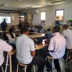 De leerlingen van Saba Comprehensive School zijn tevreden over hun nieuwe leraren - Foto: Hazel Durand
