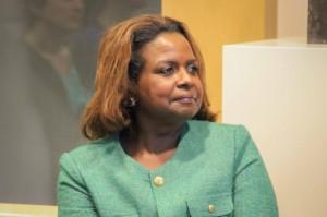 Gevolmachtigd minister Marvelyne Wiels spant een kort geding aan tegen de Curaçaose ombudsman - foto: John Samson