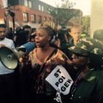 Demonstranten eiste onder meer het aftreden van burgemeester - foto's: Pieter Hofmann