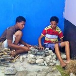 De jongeren van Aruba Bootcamp zijn naar huis - foto: Jackeliene Geeve