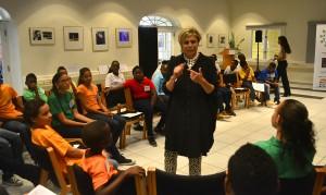 Prinses Laurentien spreekt met de Kinderraad | Foto: Dick Drayer
