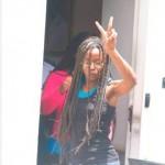 Blogger Judith Roumou verlaat de rechtbank na een zitting bij de rechter-commissaris. Foto Today / Milton Pieters