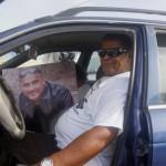 Een van de kistdragers en goede vriend van Mitch, Rolly - foto: Sharina Henriquez