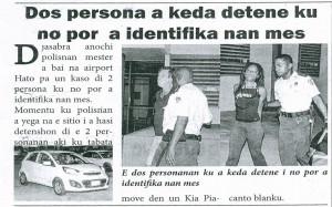 Arrestatie Brunin en Victor haalt de krant