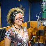 Caresse Isings in de studio