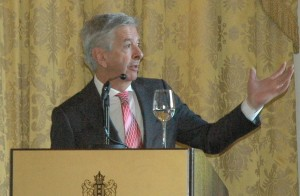 Minister Ronald Plasterk opent de handelsmissie - foto: Pieter Hofmann