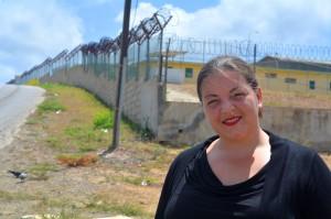Kaharina Joosen leidt het onderzoek naar criminaliteit en Caribische vrouwen | Foto: Dick Drayer