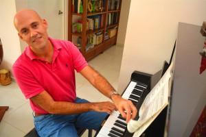 Randal Corsen wil een conservatorium op Curaçao | Foto: Dick Drayer