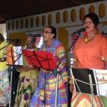 Traditionele muziek en zang tijdens de prijsuitreiking - foto: Janita Monna