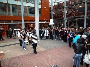 Drumband de Zwolse Panters - foto: HoltenbroekNu.nl.