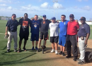 Coaches van de Baseball Week - foto: Deya Mensche