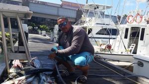 Visser George zegt dat booteigenaren vooral kijken wat veiligheid hen gaat kosten - foto: Sharina Henriquez