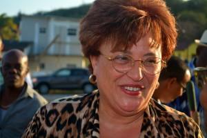 Minister Suzy Römer op werkbezoek | Foto: Dick Drayer