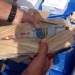 Miljoenensmokkel in kiprollades bewijst opnieuw enorme omvang drugshandel - foto: Openbaar Ministerie Aruba