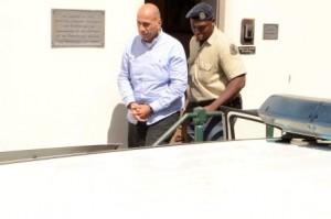 Matser verlaat de rechtbank op vrijdagmorgen. Foto Today / Leo Brown