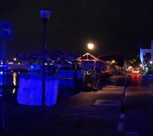 Meerdere lantaarns in onder andere de Breedestraat, Handelskade en Hanchi Snoa doen het al weken niet. Foto: Aster Speckens