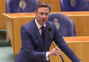 Tweede Kamerlid Han ten Broeke (VVD).