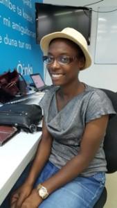 Freemover Angeline Delisca gaat in Nederland studeren zonder op Curaçao een beurs aan te vragen – Foto: Dulce Koopman