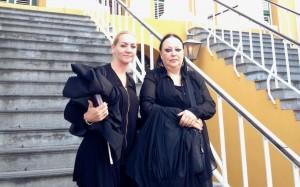 Advocaten Marije Vaders en Inez Weski willen vrijspraak voor de tot levenslang veroordeelde Martis en Marths - foto: Anneke Polak