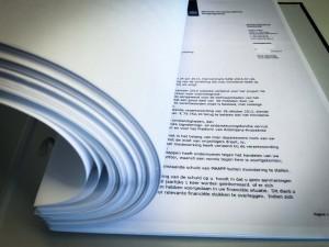 De opgevraagde documenten over de subsidieverlening aan MAAPP en de daaropvolgende verduistering door de voorzitter - foto: John Samson