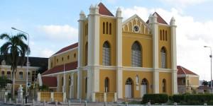 Kathedraal van Pietermaai op Curaçao - foto: Bisdom Willemstad