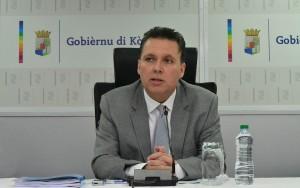 Minister van Financiën, José Jardim | Foto: Dick Drayer