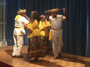 Dansgroep Flamboyant tijdens de Tulaherdenking. Foto: Pieter Hofmann.