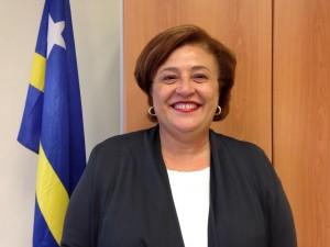 Suzy Camelia-Römer, nummer 2 op de PNP-lijst. Foto: Elisa Koek