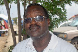 René Vincente Rosalia, politiek leider van Movementu Kousa Promé | Foto: Dick Drayer