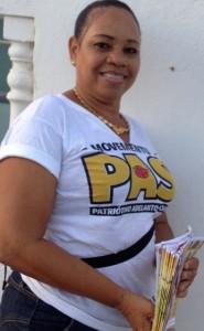 PAS-aanhanger Lucette Meriana - foto: Deya Mensche