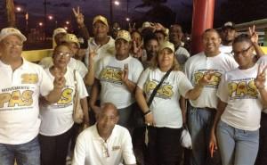 Het team van de PAs in de wijk - foto: Deya Mensche
