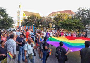 Volgens Holtslag van Gay Pro zijn er nog steeds veel mensen die niet uit durven te komen voor hun geaardheid. Foto: Elisa Koek