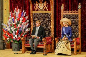 Koning Willem-Alexander leest de troonrede voor Foto: ANP Royal Images/ Sander Koning
