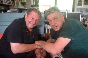 Herman van Bergen (l) en Rob Scholte hebben elkaar gevonden   Foto: Dick Drayer