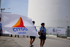 De raffinaderij wordt gezien als een eerste stap voor meer samenwerking tussen Aruba en Venezuela - foto; Sharina Henriquez
