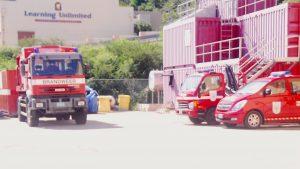 De brandweer van St. Maarten maakt een risico profiel voor het eiland - Foto: Ray Doran
