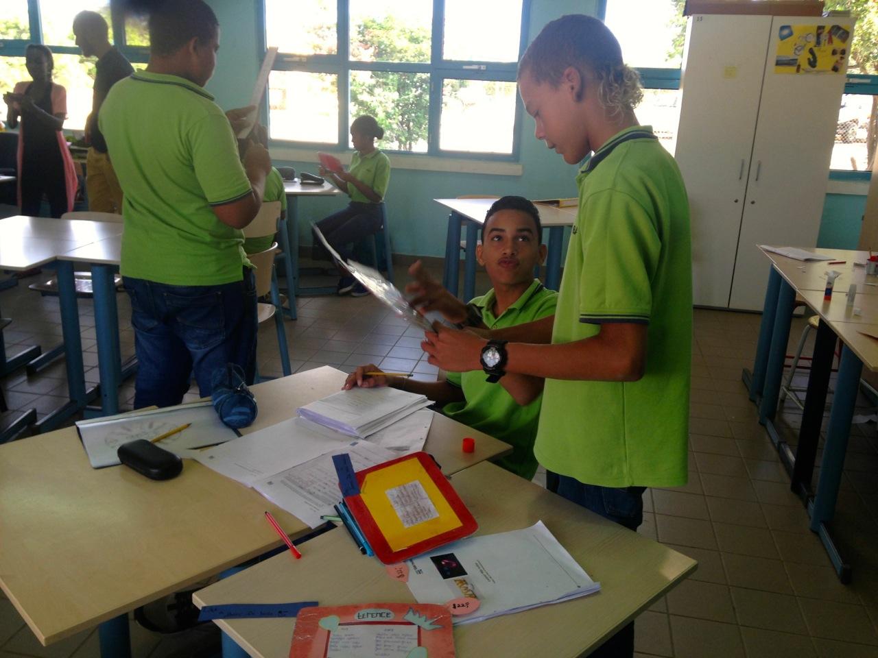 Het werken in projecten verbetert volgens Duindam de cohesie in de klas | Foto: Gijs van den Heuvel